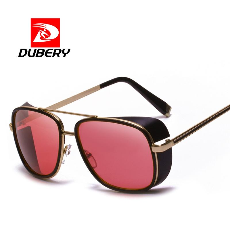 e74a967ae47 DUBERY Punk Goggle Glasses Men Vintage Steampunk Sunglasses Brand ...