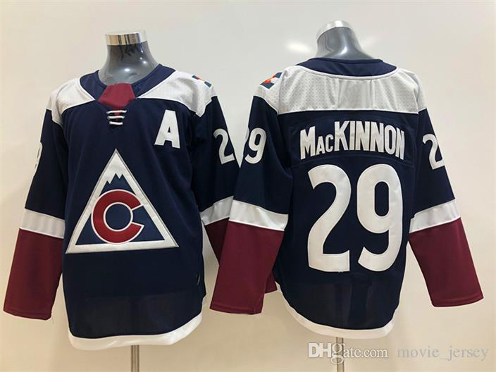 4c0e814ad 2019 2018 New Mens Colorado Avalanche Jersey 29 Nathan MacKinnon Cheap 92  Gabriel Landeskog 83 Matt Nieto High Quality Hockey Jerseys From  Movie jersey