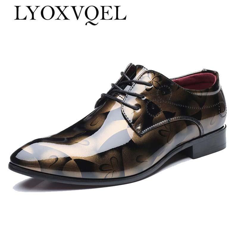 2019 England Style Mens Cloth Leather Shoes Designer Classical Lattice Pattern Brand Men Chains Party Lace-up Lazy Loafers Men's Shoes Men's Casual Shoes