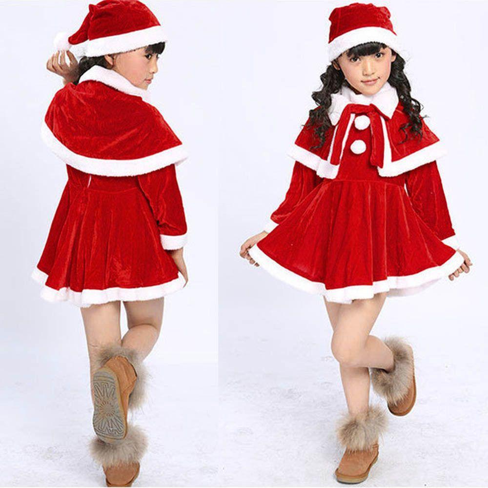 Christmas Winter Newborn Infant Babys Girls Christmas Gift Dress ...