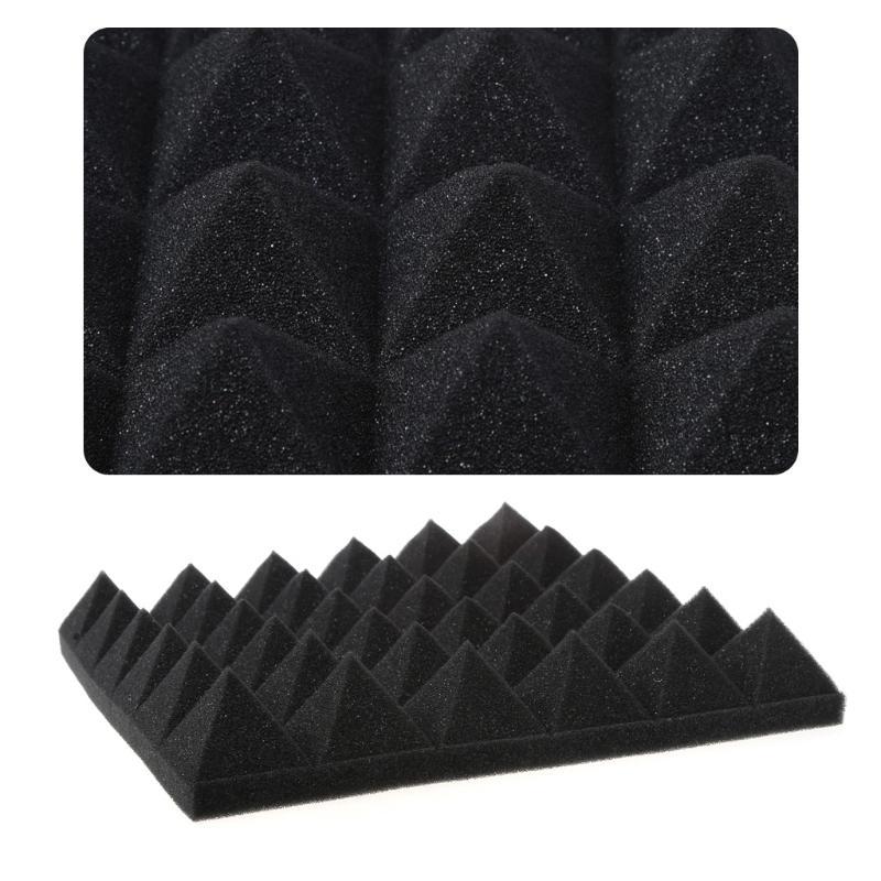 Akustische Schalldichte Sound Stoppen Absorption Pyramide Studio Schaum Schwamm 4 Farbe Besten Preis Hardware
