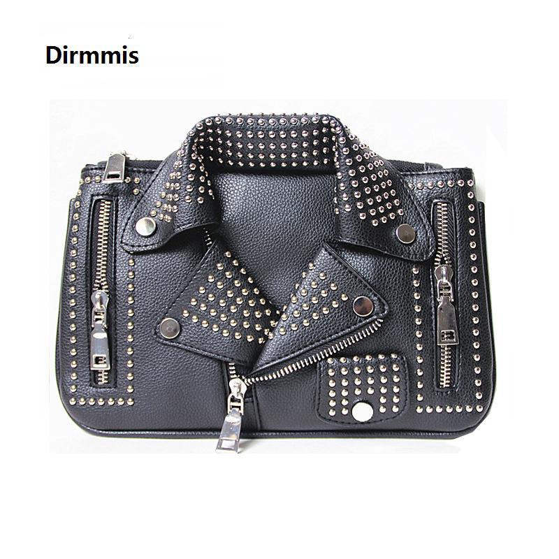 2018 Women Bags Designer Clutch Fashion Rivet Motorcycle Shoulder Bag New  Summer Fashion Handbag Chain Crossbody Casual Bag Hot Y18110101 Crossbody  Purse ... e854b0a92078