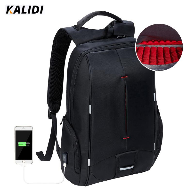 KALIDI Waterproof Laptop Backpack USB Charger 15.6 Inch School Bags Casual Backpack  Men Women 15 Inch Travel Bag For Teenage Y1890302 Backpacks For Men ... f3e38915c3634