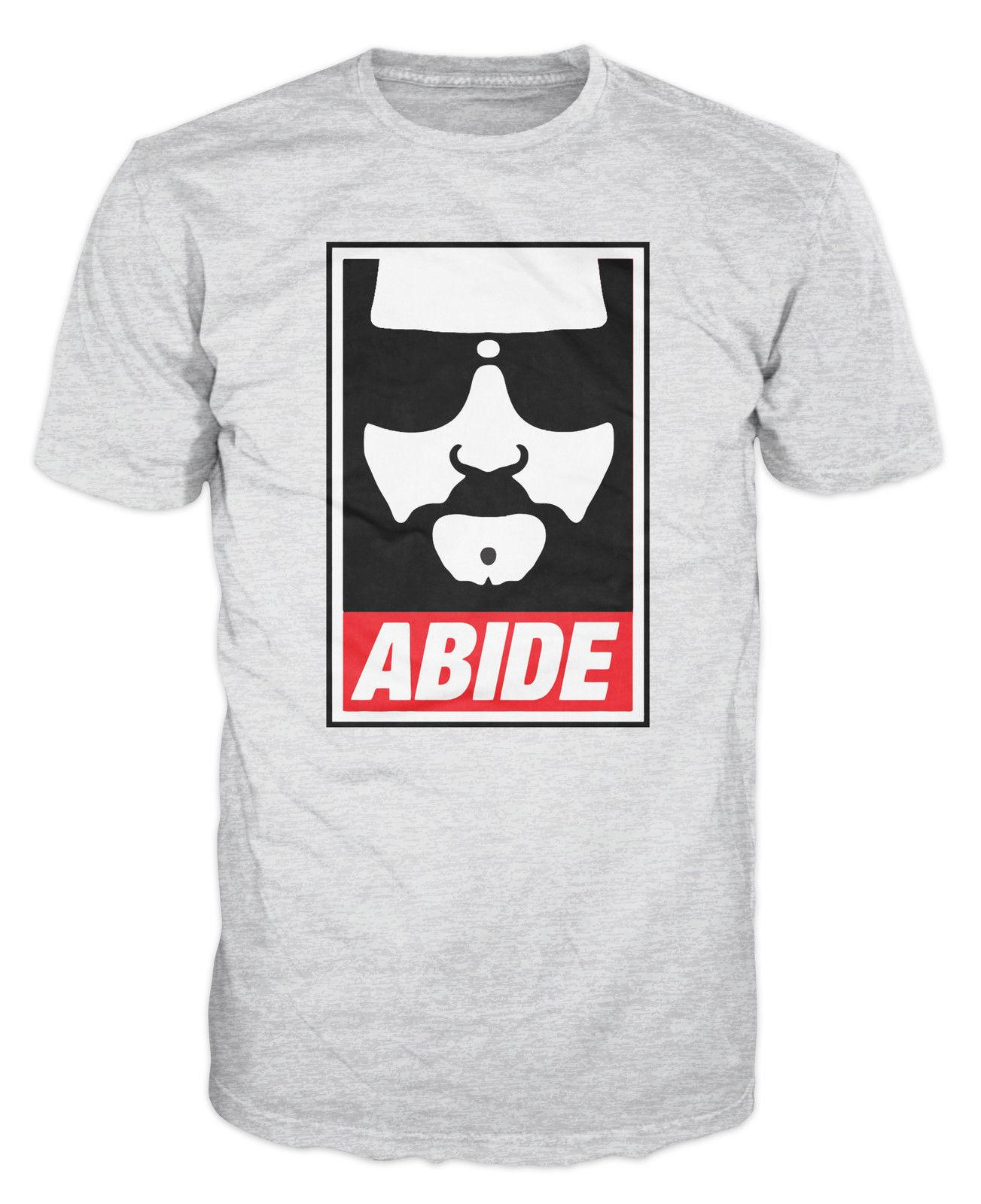 cec6ac35b0 Abide The Dude Film Hipster Bowling Funny T Shirt Shopping T Shirt Online  Cool T Shirt Sites From Beidhgate04, $11.17| DHgate.Com
