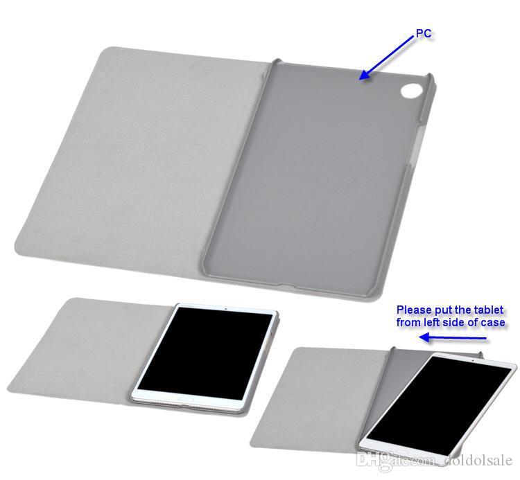 30 개 그린 패턴 PU 가죽 케이스 책 플립 커버 화웨이 미디어 패드 M5 8.4 인치 SHT-AL09 SHT-W09 태블릿 클리어 화면 보호기