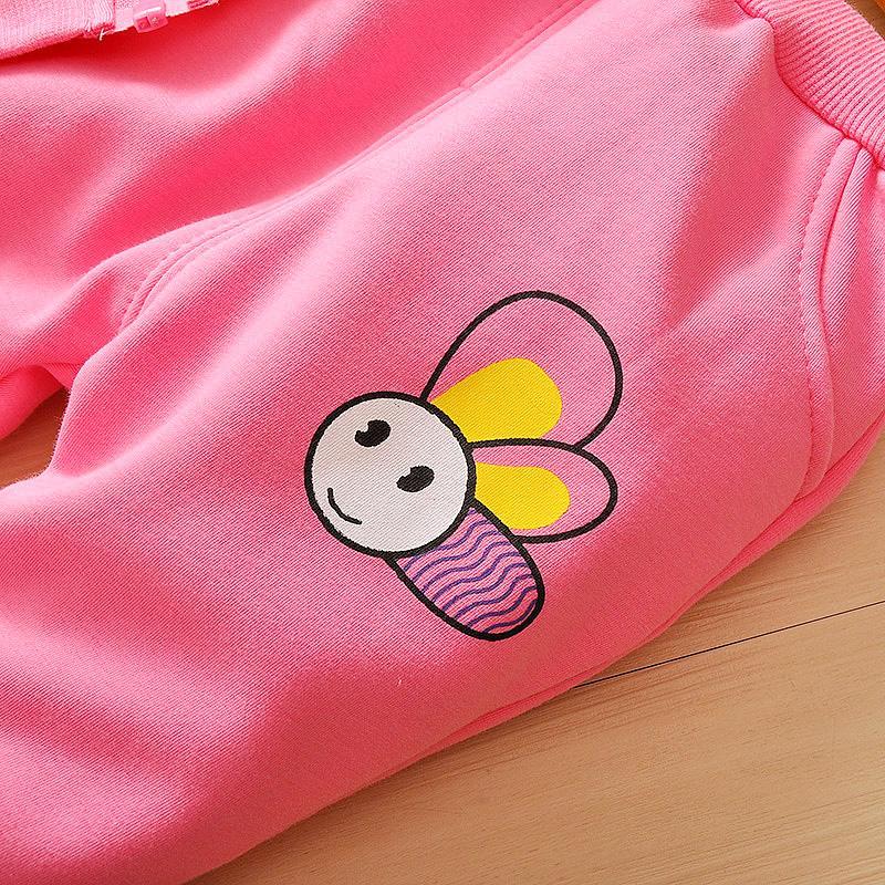 Весна осень девушки одежда наборы дети девушки толстовки пальто + брюки 2 шт. спортивный костюм набор дети девушки Весна спортивный костюм наряды