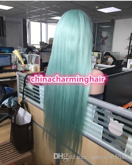 Neue Ankunfts-beste Spitzeperücken glueless färbten Menschenhaar-Perücke mit vorgewählter Haarlinie Farbe brasilianische Spitze-Front-Perücke-Jungfrau-Haar
