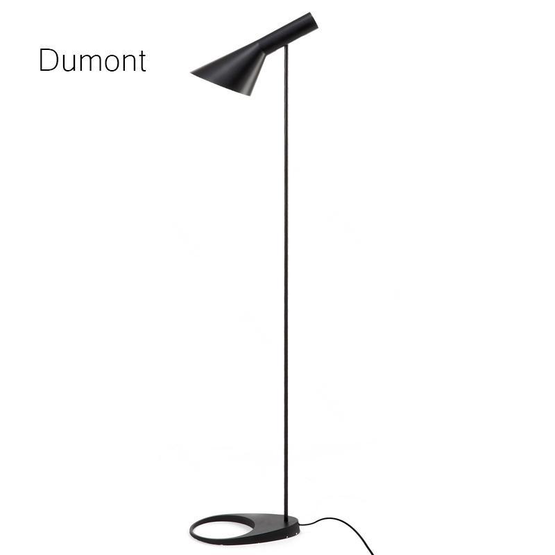 aj floor lamp black 2018 brief design aj floor lamp blackwhite loft metal standing light for living roombedroom lampadaire de salon 100 240v euus plug from cornelius