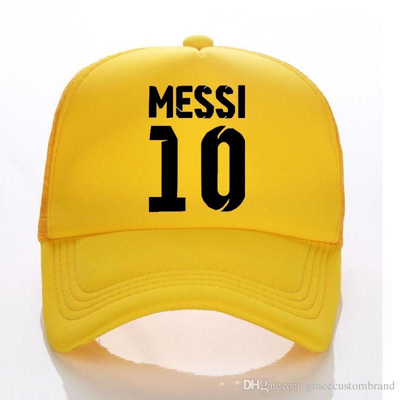398f46395e6 2018 World Cup MEESI Kids Trucker Hat Summer Child Adult Baseball Hats Sun  Caps Boy Snapbacks Fans Of Messi 10 Brazil Football Cap Snapback Cap Cool  Hats ...