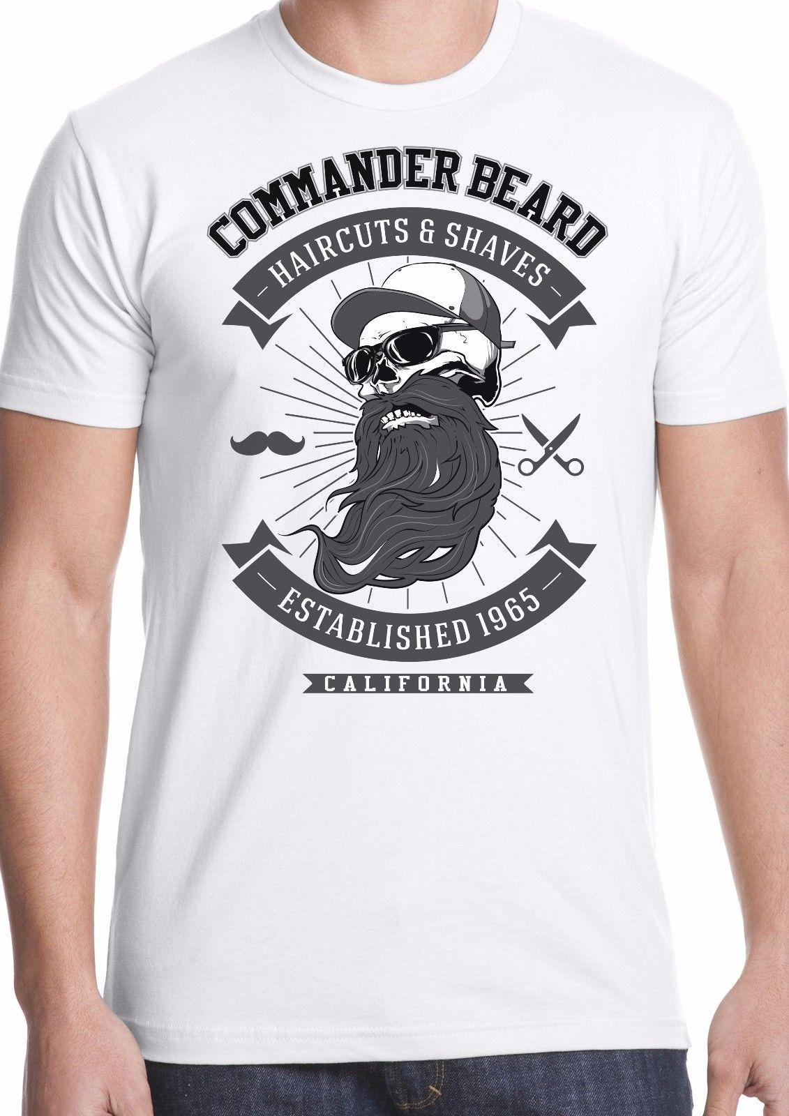 f544366f3ac Beard T Shirt Hipster Barber Hair Cut Shave Hip Modern Style Commander Funny  Unisex Tee Tee Shirt Of The Day Link Shirts From Stshirt