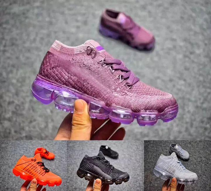 27b3356f3e8e Baby Kids Presto Air Flair Running Shoes Children Athletic Shoes Boys Girls  Training Black Orange Purple Fly Cushion Sports Sneaker Shoes Kids Tennis  Shoes ...