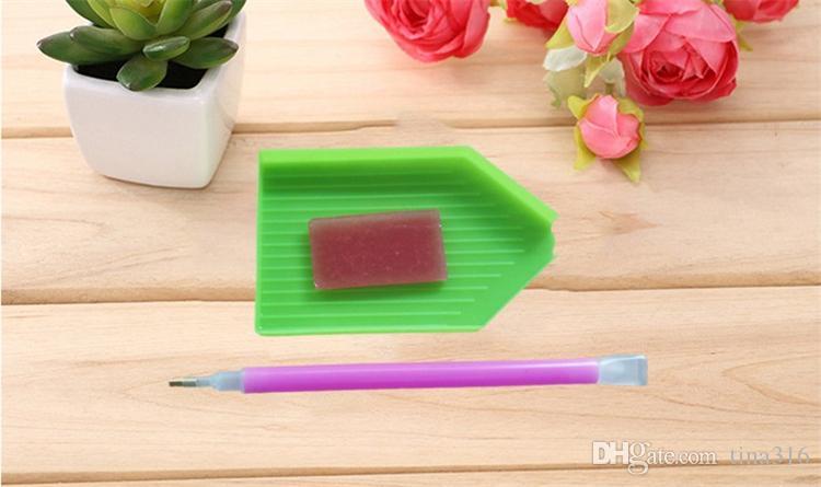 Beleza Flor 5D Mosaico DIY Pintura Diamante Cruz Ponto de Artesanato Kit de Parede Em Casa Pendurado Decoração T2I147