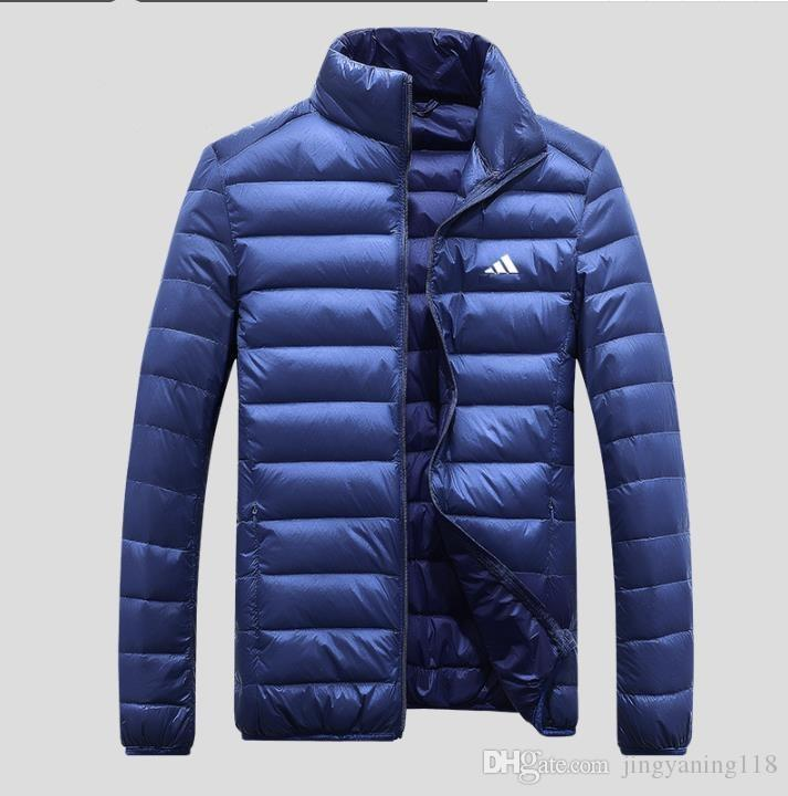 97a84a42a0f7 Wholesale- New Mens White Goose Down Parkas Thin Style Soft Man ...