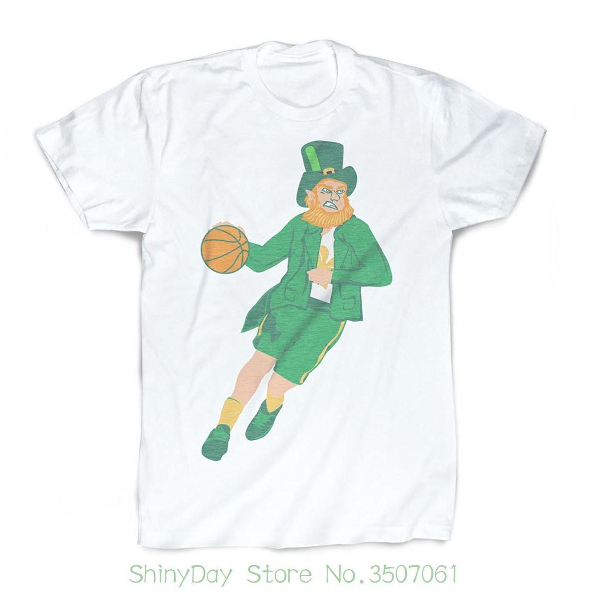 Grosshandel Tshirt Brand 2018 Mannlich Kurzarm Leprechaun T Shirt