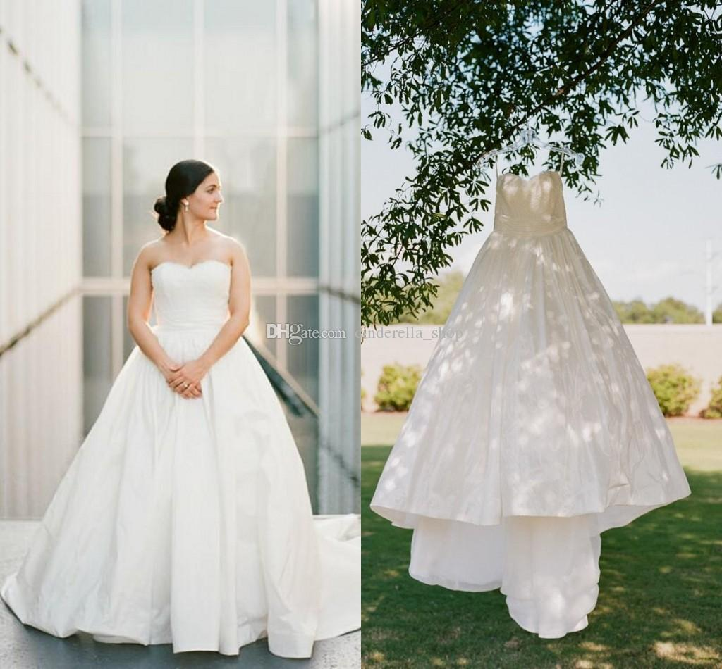 Lace Ball Gown Country Wedding Dresses 2018 Sweetheart Lace Top ...