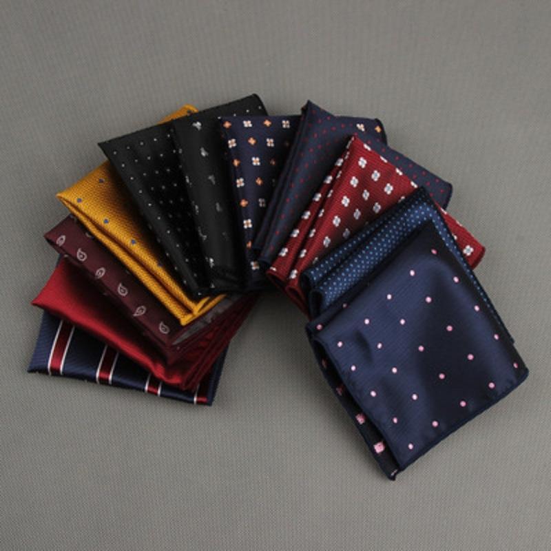 09f4464415070 Suit Pocket Square Handkerchief Polyester Silk Handkerchief Printed ...