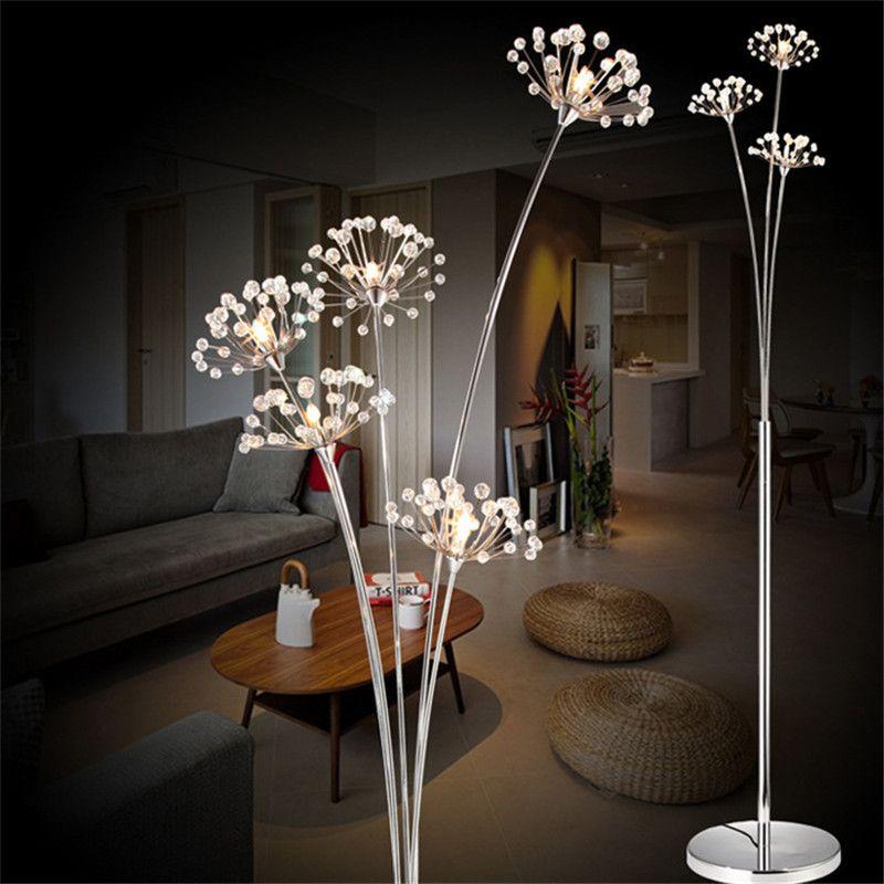 Großhandel Kühles Modernes Einfaches LED Stehlampe Wohnzimmer ...