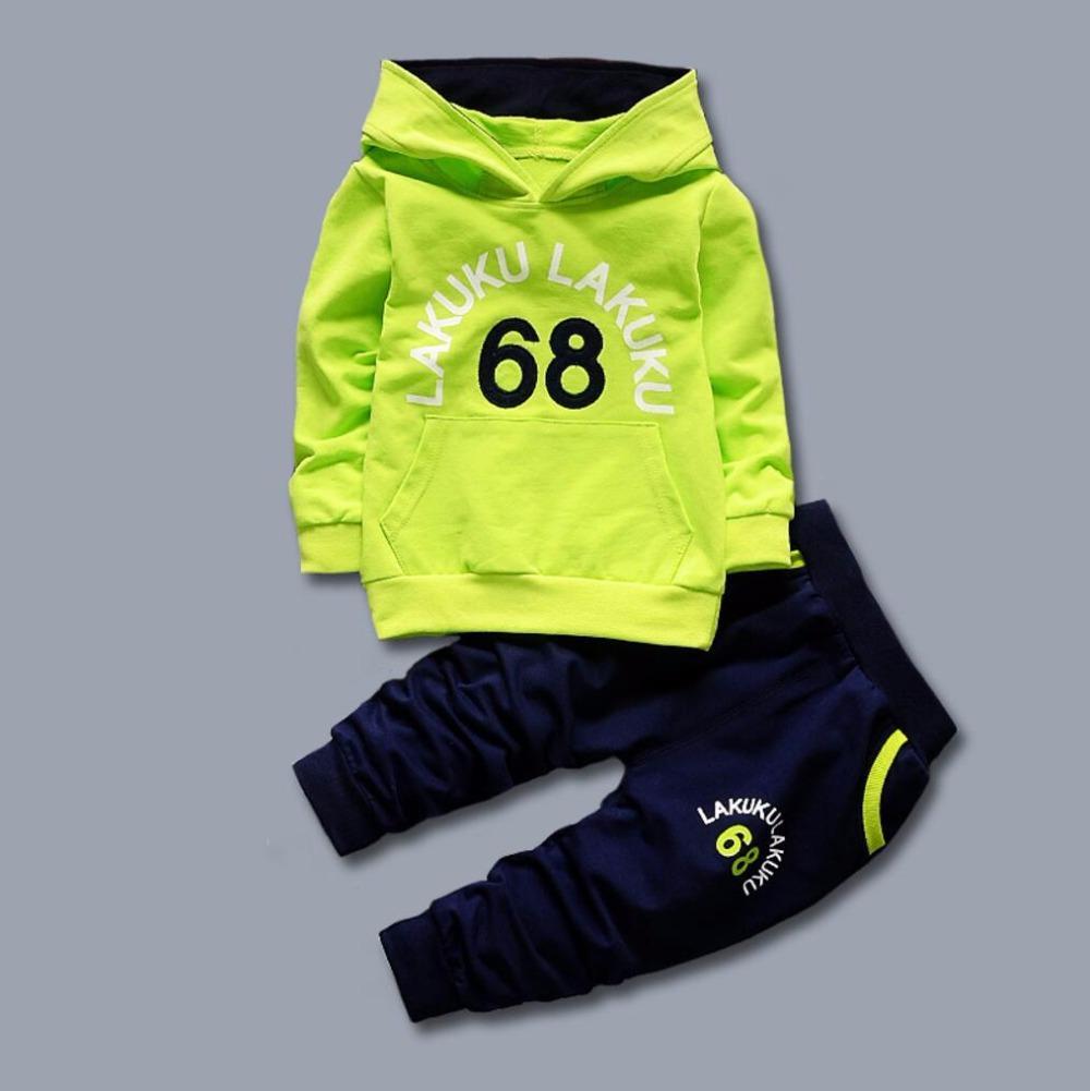 e758eb17a 2019 Children Clothing Set Baby'S Sets 100% Cotton Kids Hoodies Boy Outfit  Sports Suit 1 5T Boys Girls Suits Cotton Child Clothes 68 From Jfyshop, ...