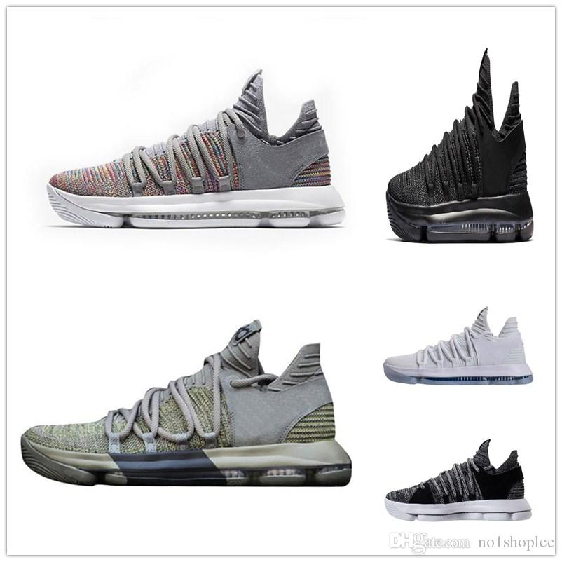 2018 kd 11 basketball shoes black grey chlorine blue sneakers kevin durant 11s basketball sneakers us size 7 12 kids sneakers shoes basketball from