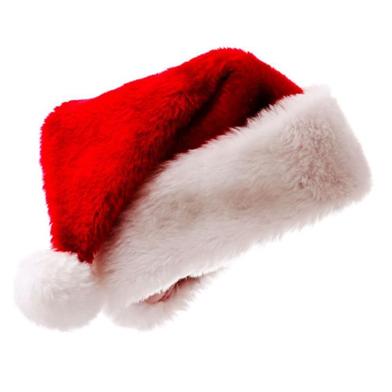 6f58eec0d8f Christmas Sequin Sheen Santa Hat Kids Children Men Women Festive Costumes  Cap Dress Up Props Party Accessory Supplies Decor Ornaments Decorate  Christmas ...