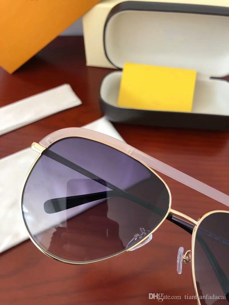 0850 Fashion Sunglass Mujeres Marca Deisnger Cat Eye Full Frame UV400 Lens Summer Style Adumbral Butterfly Diseño Color mezclado Ven con funda