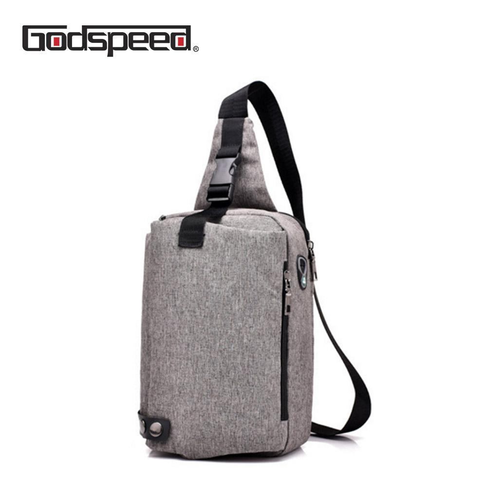 0a06d5da4032 Anti-theft cross body messenger bag shoulder bags with earphone hole travel  sling bag