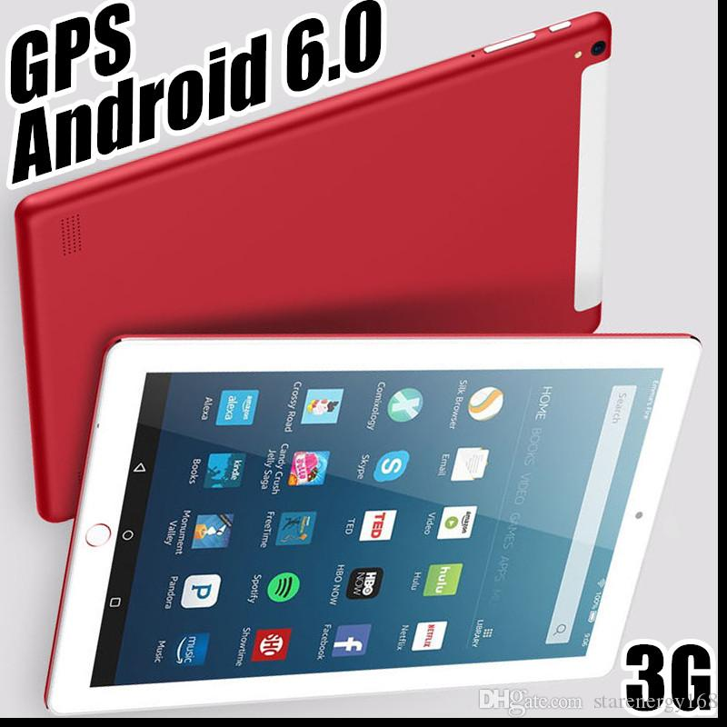2018 10 10 inch MTK6582 Octa Core 1 5Ghz Android 6 0 3G Phone Call tablet  pc GPS bluetooth Wifi Dual Camera 4GB 64GB