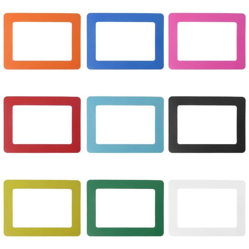 Satın Al Diy Renkli Manyetik Resim çerçeveleri Buzdolabı Buzdolabı