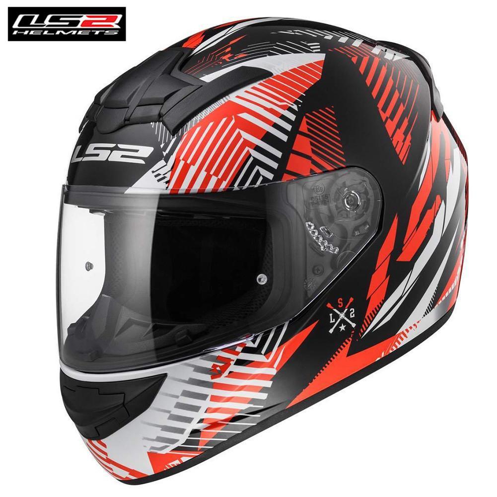 Compre LS2 Rookie FF352 Motocicleta Casco Integral Scooter Rider Casco Moto  Capacetes De Motociclista Motor Helm A  123.82 Del Wondenone  3b7c0064d76
