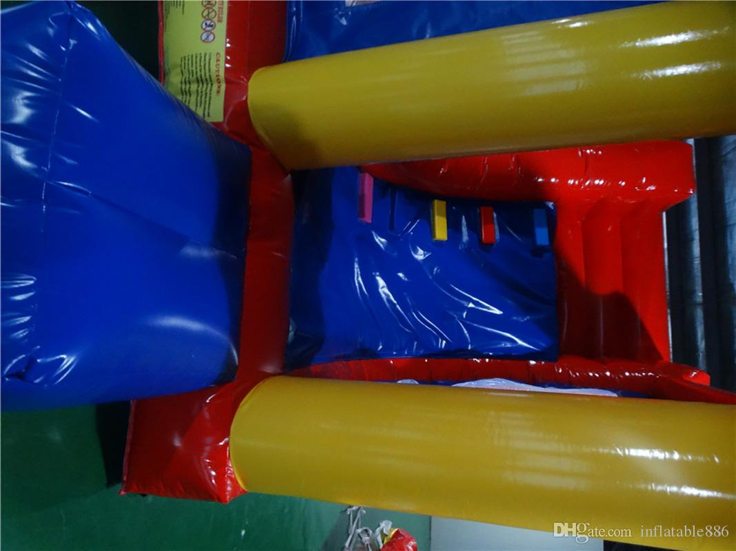 ful Commercial PVC jumping castle for kids inflatable bounce house indoor playground