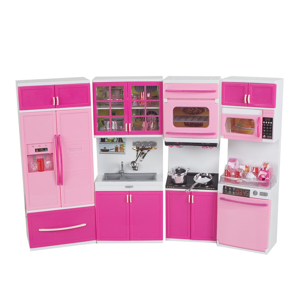 2019 1 18 kid kitchen pretend play cook cooking set pink cabinet stove fun learningeducational toy xmas gift for kid from toyshome 73 51 dhgate com