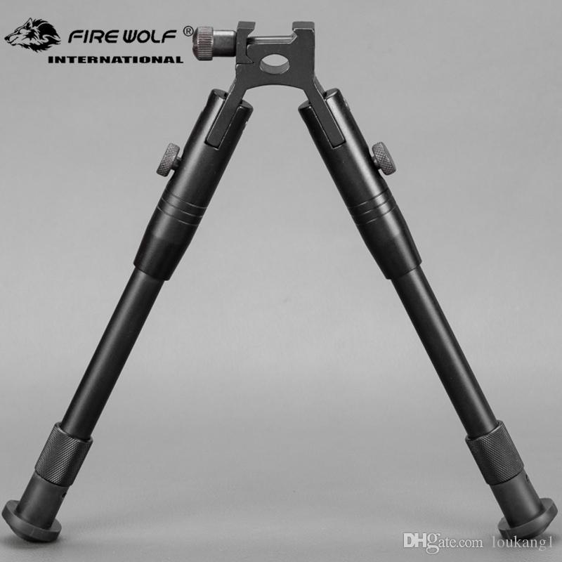 Foldable /& Length Adjustable Bipod for Mounting on 20 mm Picatinny//Weaver Rail