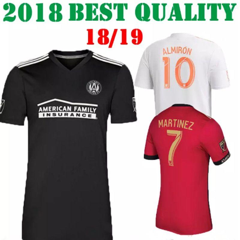 0a88911fe Thai Quality 2018 Atlanta United Red Home Soccer Jersey 18 19 GARZA ...