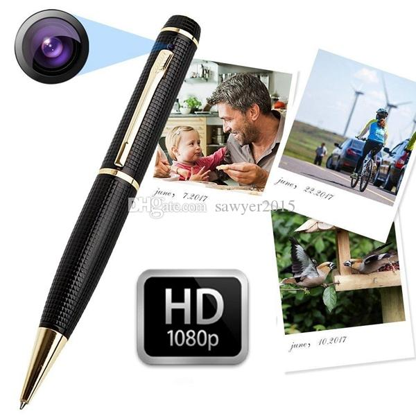 HD 1080P 720P mini pen camera portable pen Mini DV DVR digital Video Recorder Mini Camcorder Pen pinhole camera With motion detection