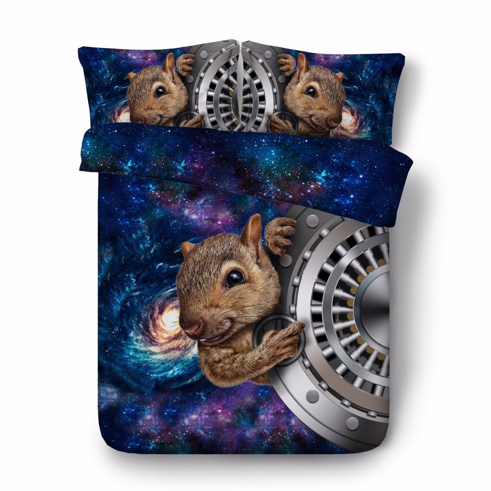 Free shipping 3d animal dinosaur tiger owl wolf lion bedding 1 duvet cover&2 pillow cases twin/full/queen/king/super king size