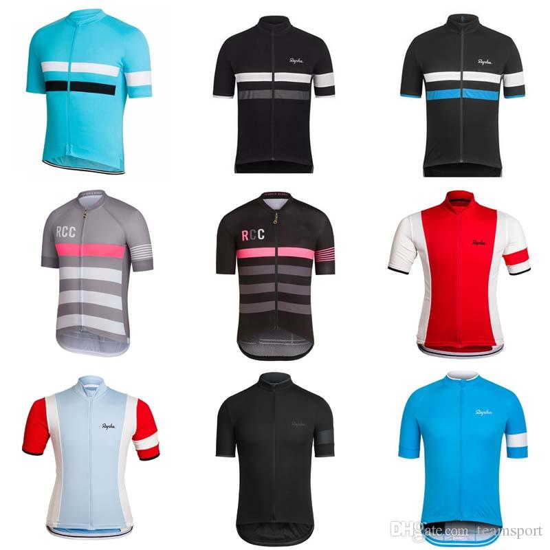 RAPHA Team Cycling Jersey 2018 New Arrival Cycling Jerseys Wholesale Cycling  Clothing Top Quality Cycling Clothing 840305 Bike Clothing Bike Jerseys  From ... a8975bd62