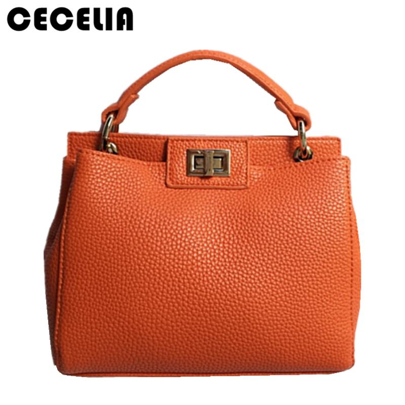 dd3d5a5d46 Cecelia 2017 New Women Leather Handbags Litchi Ladies Messenger Bag Cat  Crossbody Bag Brand Designer Tote Bolsos Muj Clutch Bags Hobo Bags From  Drdre