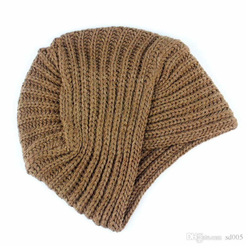 Fashion Women Men Solid Color Woolen India Cap Outdoor Cool Protection  Handmade Beanies New Winter Style 6 8yd Ff Beanie Kids Skull Caps From  Sd005 a707630eeab