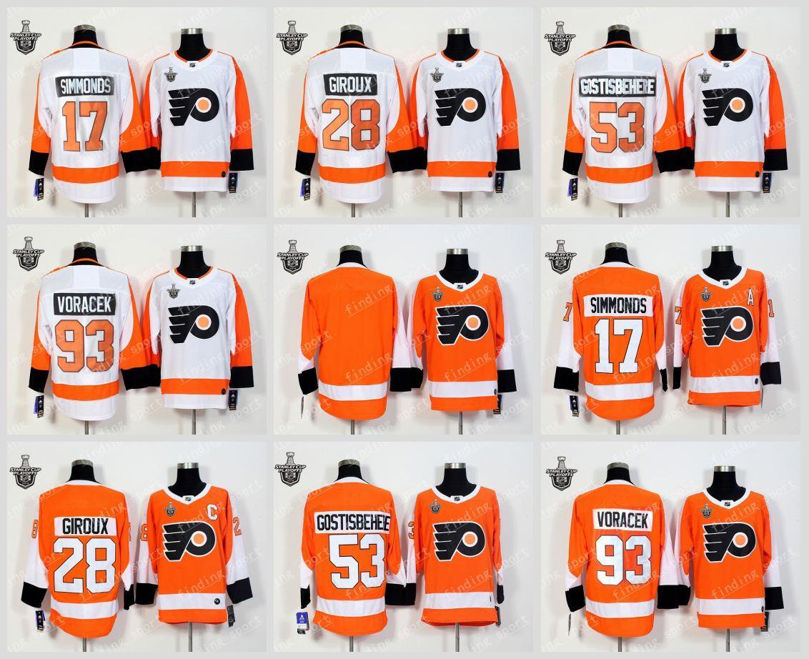 2018 PLAYOFFS Men Philadelphia Flyers 17 Wayne Simmonds 28 Claude ... 0e0c9c78d