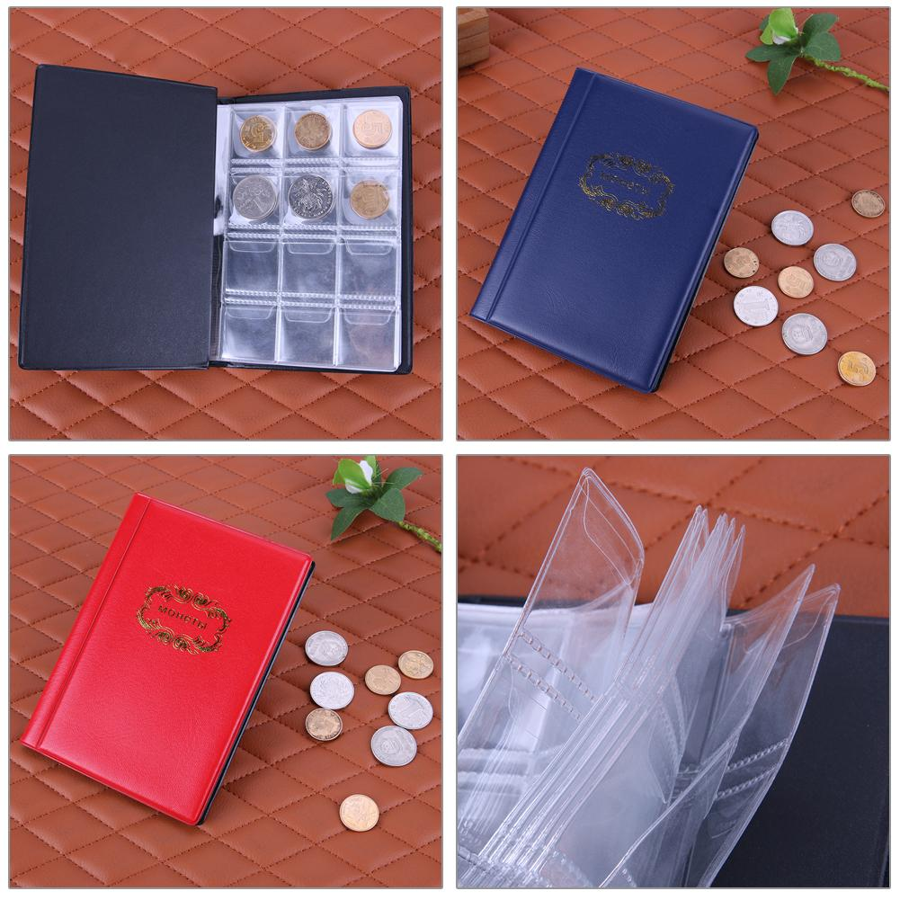 79d867334b Collection Holder Russian Album 10 Pages 120 Pockets Banknote Album Penny  Collecting Coin Holder Black Blue Red Unique Home Decor Unique Home  Decorations ...