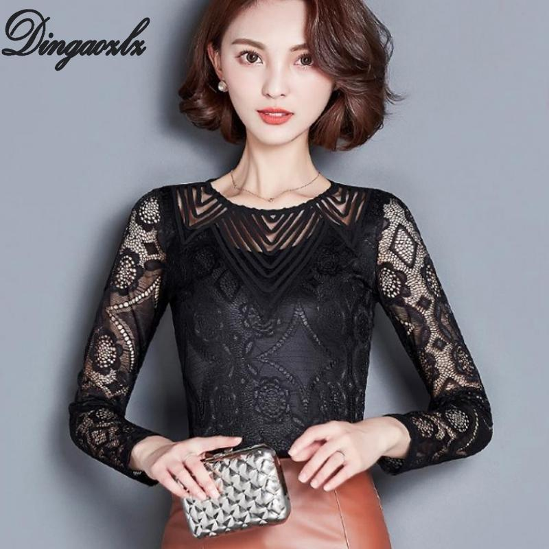 Women's Clothing Women Fashion Blouse Elegant Swan Embroidery White Blusas Office Lady Vintage Long Sleeve Shirt Work Wear Slim Tops Blusa Beautiful And Charming