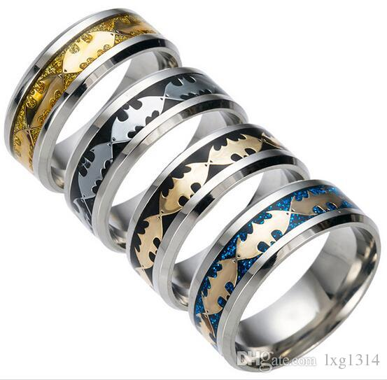 Hot Vintage Chinese Dragon Plated Ring Men's Fashion Rings Yiwu HONGHAO Jewelry Wholesale