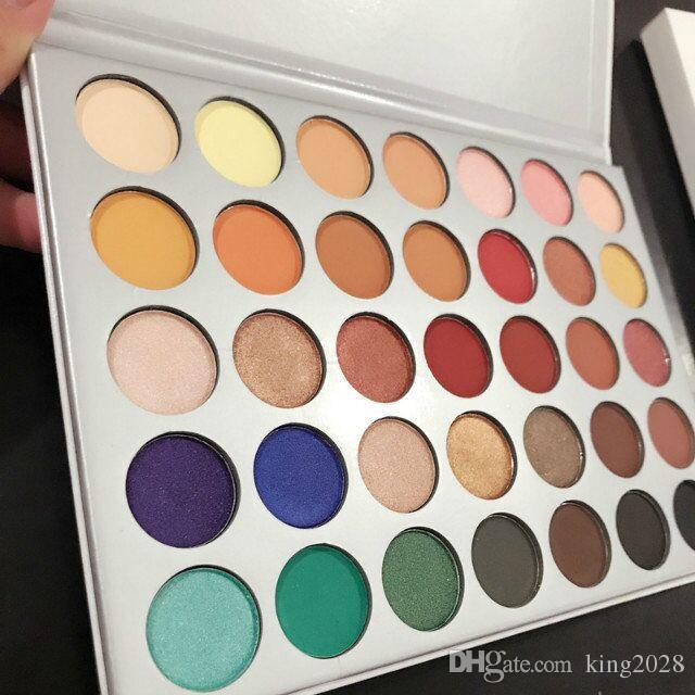 Stokta ve makyaj için ücretsiz kargo Göz Farı Paleti Palet Göz Farı 3 5 renk Makyaj seti.