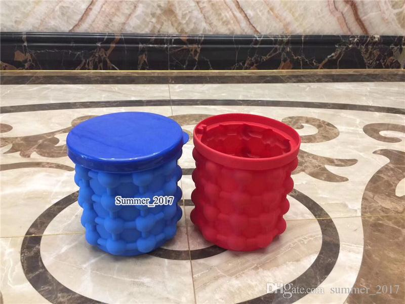 10*10cm Ice Cube Maker Genie cup The Revolutionary Space Saving Kitchen Tools Small Magic Ice Buckets Outdoor World Cup