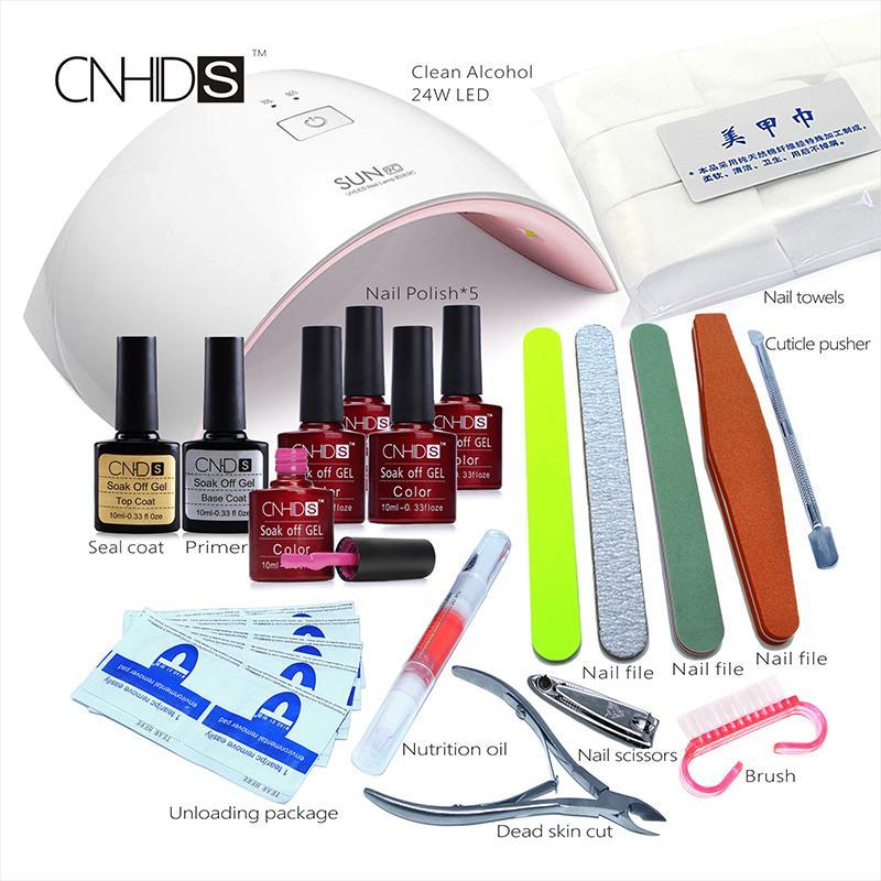 Professional Nail Dryer Uv Light 24w 9c Led Uv+Lamp Manicure ...