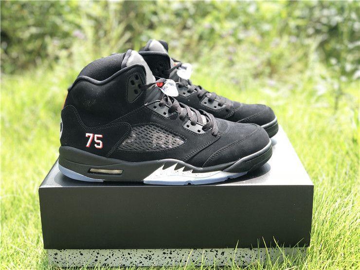 best sneakers 3e1c6 47bdf where to buy air jordan 5 psg black white challenge red ...