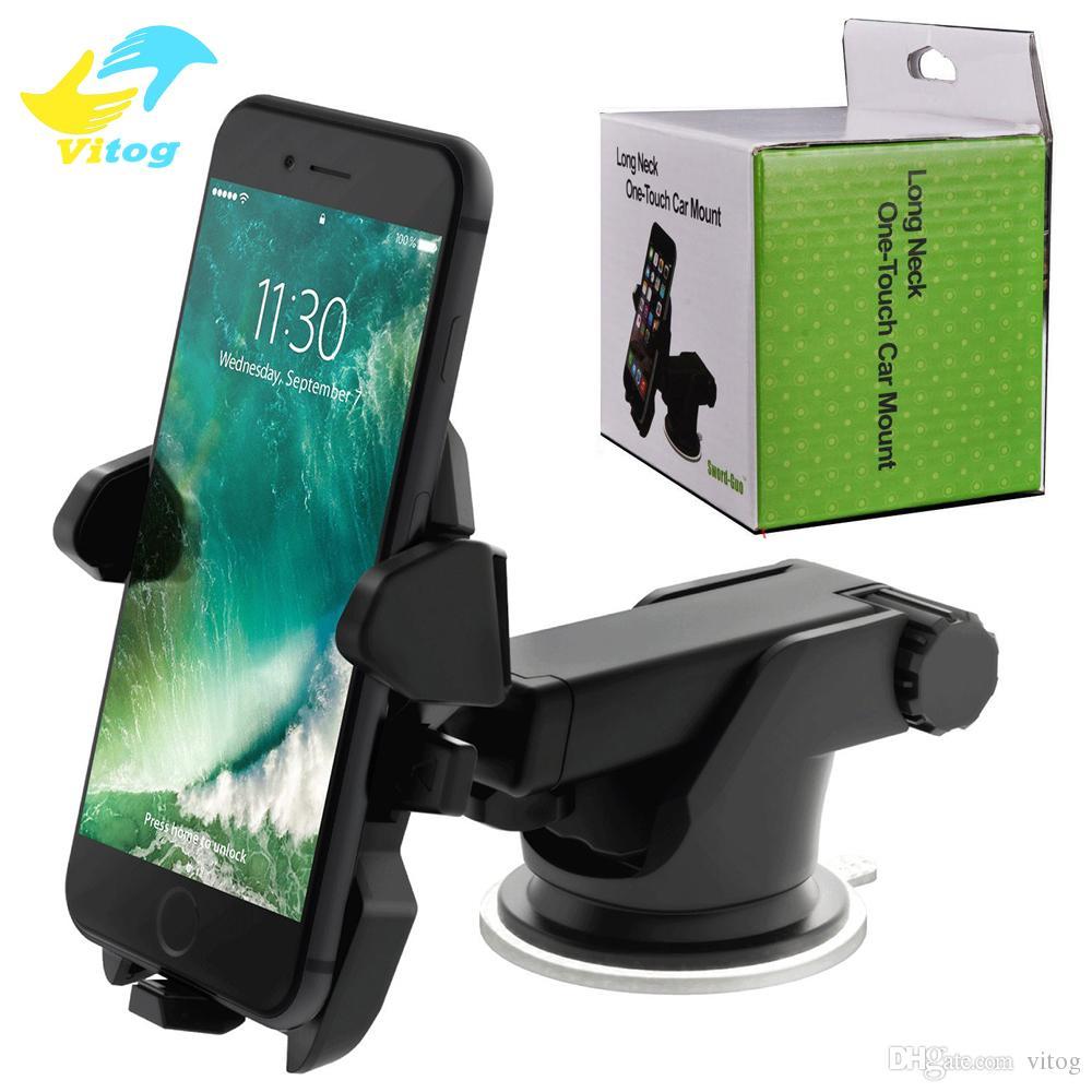 Smartphone Support Support Universel De Téléphone Portable De Voiture  Support De Tableau De Bord De Pare Brise Réglable De Fenêtre De 360 degrés  Pour Tous ... 2892af213625