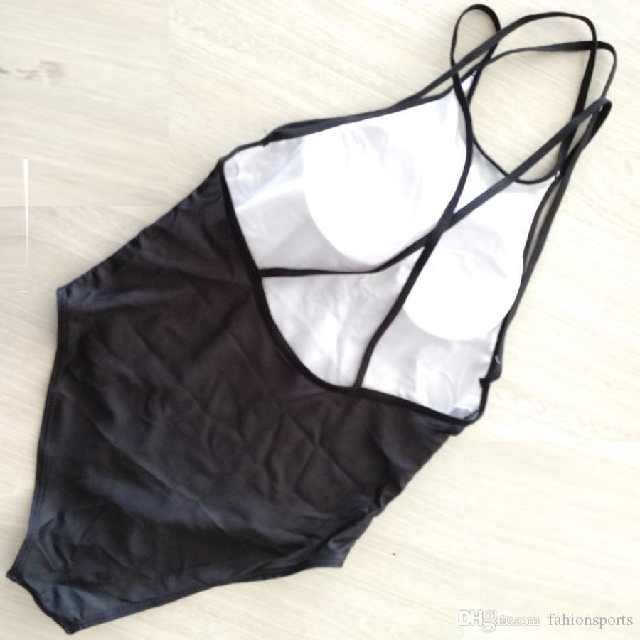 المرأة الجديدة المايوه قطعة واحدة ملابس السباحة الساخنة سيدة ملابس السباحة monokini رفع بيكيني مبطن