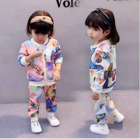1 set baby toddler Kids boys jeans outfits coat jacket+pants boys outfits /& sets