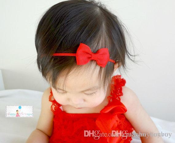Baby Headbands Small Bow Girls Grosgrain Ribbon Hairbands Kids Elastic  Bowknot Headwear Children Hair Accessories KHA300 Peacock Hair Accessories  Starfish ... 8d20727481e
